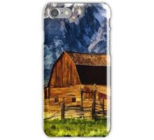 valley barn iPhone Case/Skin