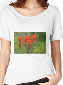 Indian Paint Brush Women's Relaxed Fit T-Shirt