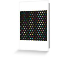 Disco background Greeting Card