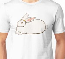 Goggles Bunny Unisex T-Shirt