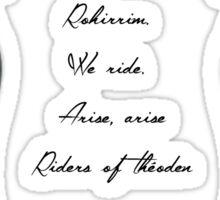 We Ar the Rohirrim Sticker