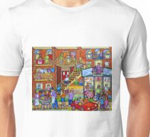 MONTREAL BALCONVILLE SUMMER IN THE CITY  Unisex T-Shirt