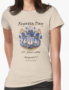 Regatta Day 2016 - bigger  Womens Fitted T-Shirt