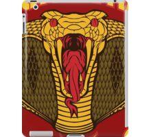 monkon muay thai cobra thailand martial art sport logo new color iPad Case/Skin