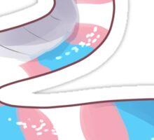 Transssgender Snake sticker Sticker