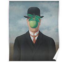 The Great War - René Magritte Poster