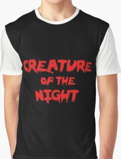 Creature of the Night Graphic T-Shirt