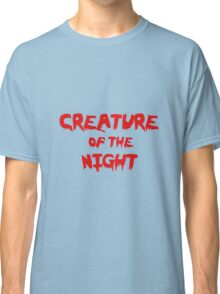 Creature of the Night Classic T-Shirt