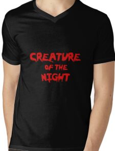 Creature of the Night Mens V-Neck T-Shirt