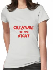 Creature of the Night Womens Fitted T-Shirt