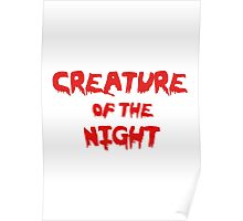 Creature of the Night Poster