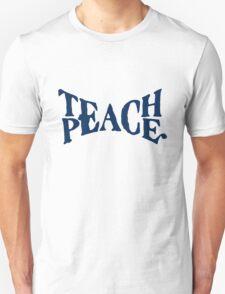 TEACH PEACE VINTAGE Unisex T-Shirt