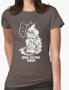 zero victims today grim reaper death are take vacation in summer Womens Fitted T-Shirt