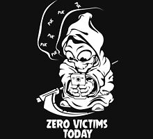 zero victims today grim reaper death are take vacation in summer Unisex T-Shirt