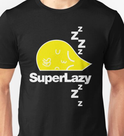 SuperLazy - Yellow (2) Unisex T-Shirt