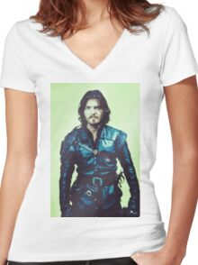 Athos 2 Women's Fitted V-Neck T-Shirt