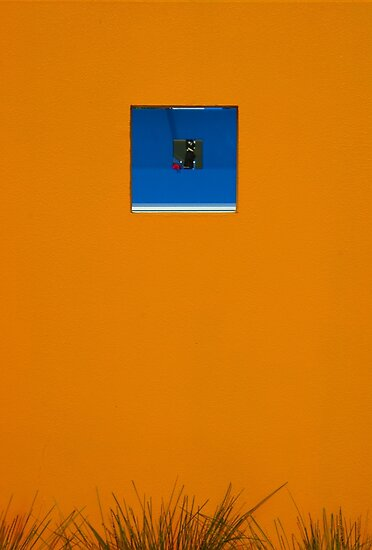 Orange wall by athex