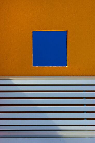 Orange wall and seat by athex
