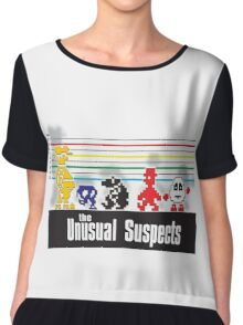 The First Unusual Suspects Chiffon Top