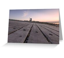 Whitstable Sunset Greeting Card
