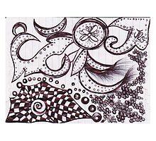 """Plate Subconscious"" by Jessica R Ojeda by Jessie Ojeda"