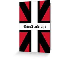 Diestroviche Flag Greeting Card