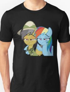 Rainbow Dash and Daring Do - I Told You Unisex T-Shirt