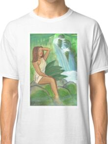 Waterfall pinup Classic T-Shirt