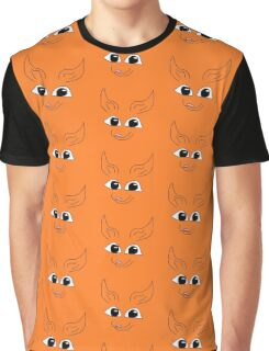 Cute Fox Graphic T-Shirt