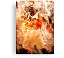 Carmelo Anthony - Through the Fire Canvas Print