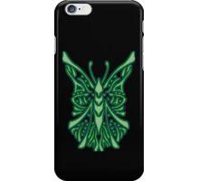Elegant Butterfly Green iPhone Case/Skin