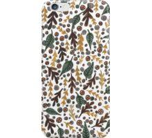 Autumnal Leaves Print iPhone Case/Skin