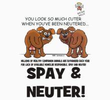 SPAY AND NEUTER ! by Animal Welfare Cartoons