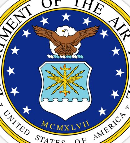 United States Air Force Seal of the US Air Force Sticker