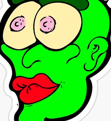 Did you see them titties Sticker