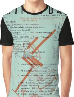 Dada Poster - Creative Commons Graphic T-Shirt