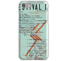 Dada Poster - Creative Commons iPhone Case/Skin