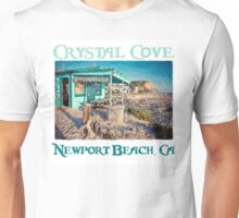 Crystal Cove Shack - Newport Beach Unisex T-Shirt
