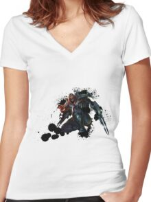 Zed - League of Legends Women's Fitted V-Neck T-Shirt
