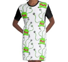 Alien Graphic T-Shirt Dress