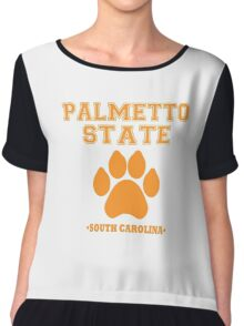 Palmetto State Chiffon Top