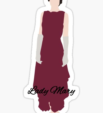 Lady Mary - Downton Abbey Sticker