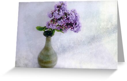 Lilac Time Still Life by LouiseK