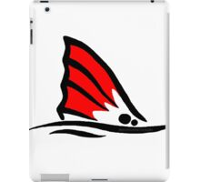 Red Fish Tail Red iPad Case/Skin