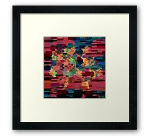 Geometry Glitch n.8 Framed Print