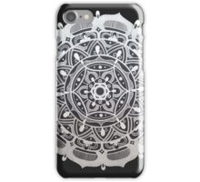 Peaceful Silver Symmetry iPhone Case/Skin