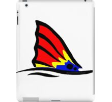 Red Fish Tail Colorful iPad Case/Skin