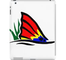 Red Fish Tail in Grass iPad Case/Skin