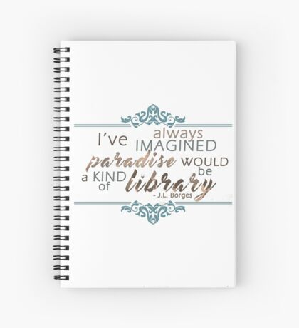 Paradise = Library Spiral Notebook