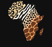 Africa Map African Safari T-Shirt Unisex T-Shirt